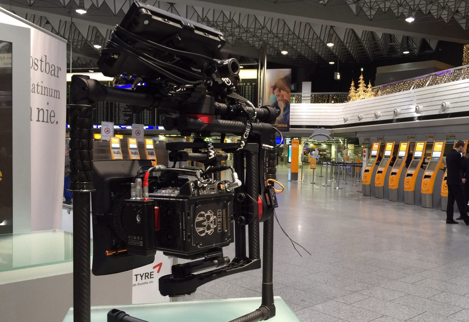 <p>The Beast Gimbal waiting with RED on departure&#8230;</p>